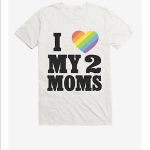 Hot Topic Women's Medium Pride T-shirt -White